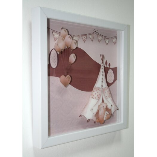 Graham & Brown Eleflump Layered Framed Art