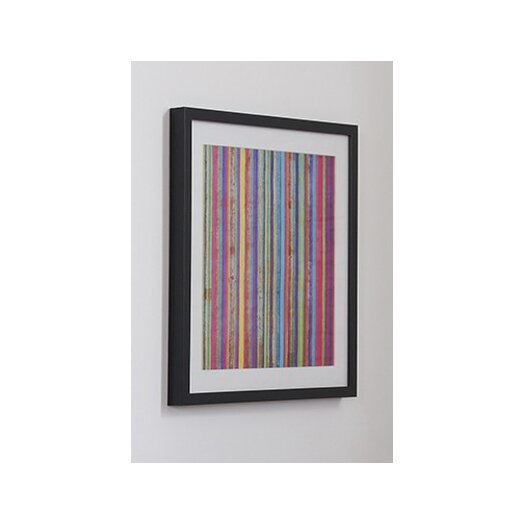 Graham & Brown Neon Stripe Framed Painting Print