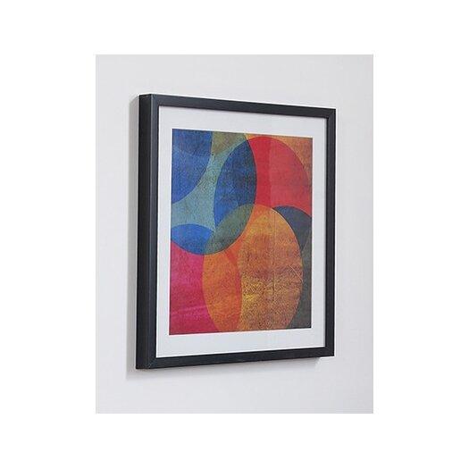 Graham & Brown Neon Circle Framed Painting Print