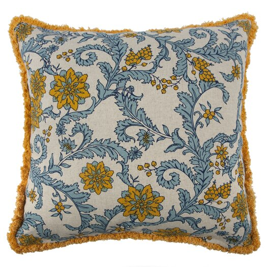 Thomas Paul Vineyard Octopus Flax Throw Pillow