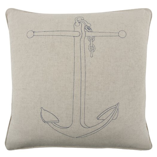 Thomas Paul Anchor Throw Pillow