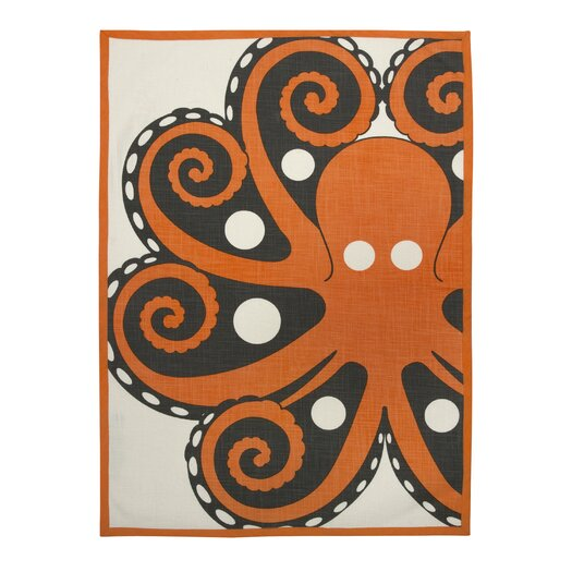 Octopus Tea Towel