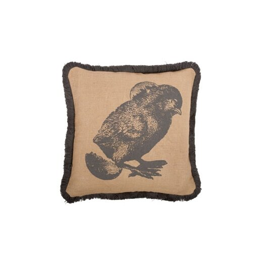 "Thomas Paul Chick 16"" Cotton Throw Pillow"