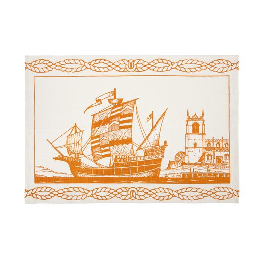 Spanish Ship Tea Towel