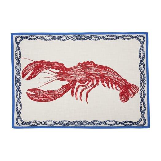 Lobster Sketch Tea Towel