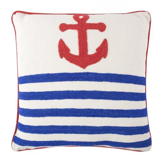 Anchor Crewel Pillowcase