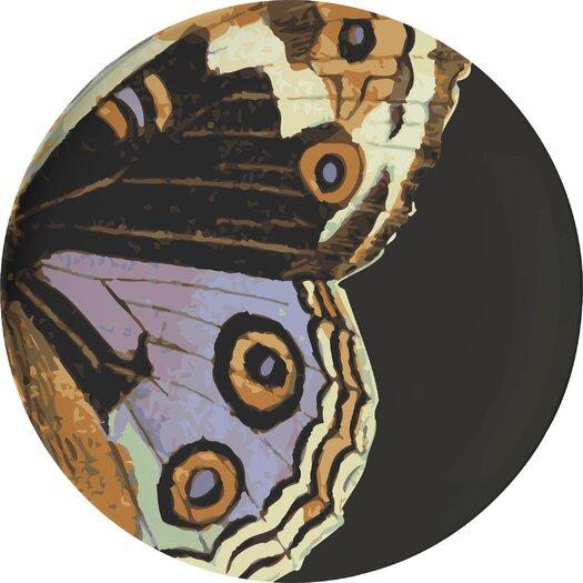 "Thomas Paul Metamorphosis 11"" Melamine Dinner Plate 4 Piece Set"
