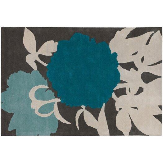 Thomas Paul Tufted Pile Blue/Gris Peony Rug