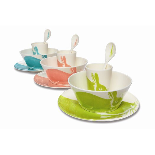 Thomas Paul Bunny 4 Piece Place Setting Set