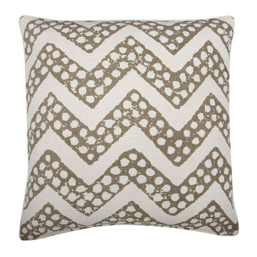 Thomas Paul Fragments Chevron Cotton Throw Pillow