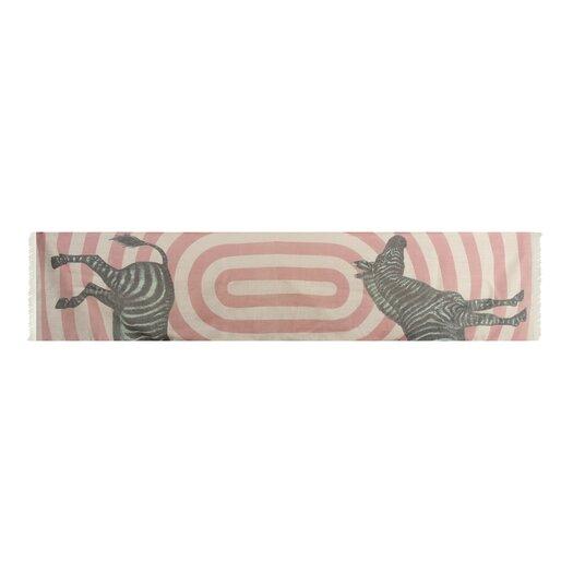 Zebra Wool Scarf