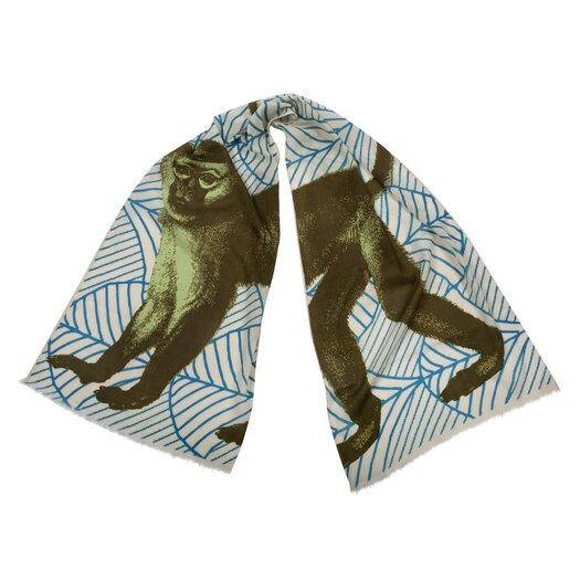 Thomas Paul Monkey Wool Scarf