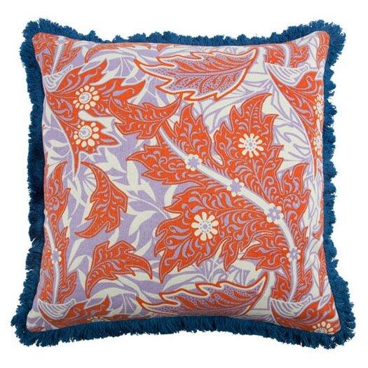 """Thomas Paul Calico 22"""" Linen Throw Pillow"""