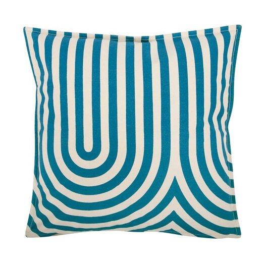 """Thomas Paul Geometric 18"""" Cotton Throw Pillow"""