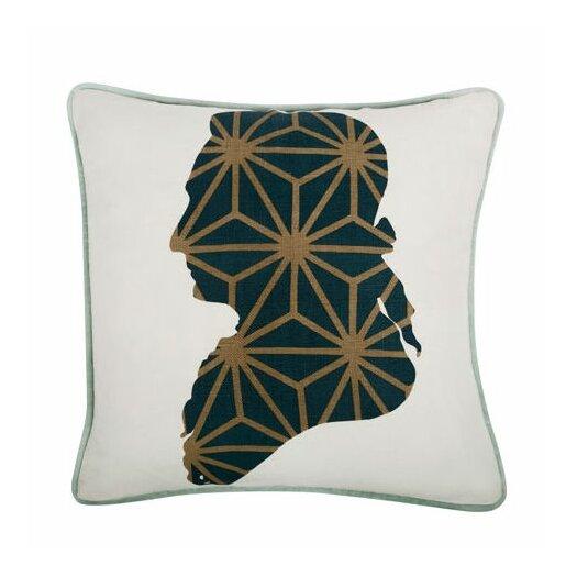 """Thomas Paul Karl 18"""" Cotton Throw Pillow"""