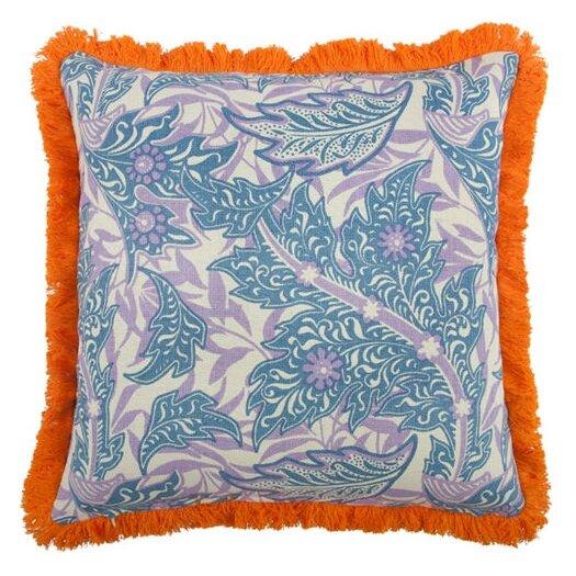 """Thomas Paul Giraffe 18"""" Linen Throw Pillow"""