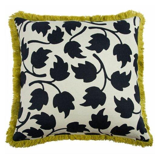 "Thomas Paul Vines 22"" Linen Throw Pillow"