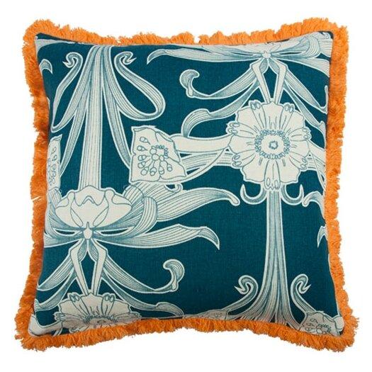 "Thomas Paul Morris 22"" Linen Throw Pillow"
