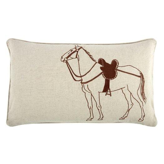 Thomas Paul Thoroughbred 12x20 Linen Lumbar Pillow