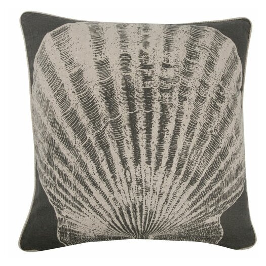 """Thomas Paul Scallop 18"""" Linen Throw Pillow"""