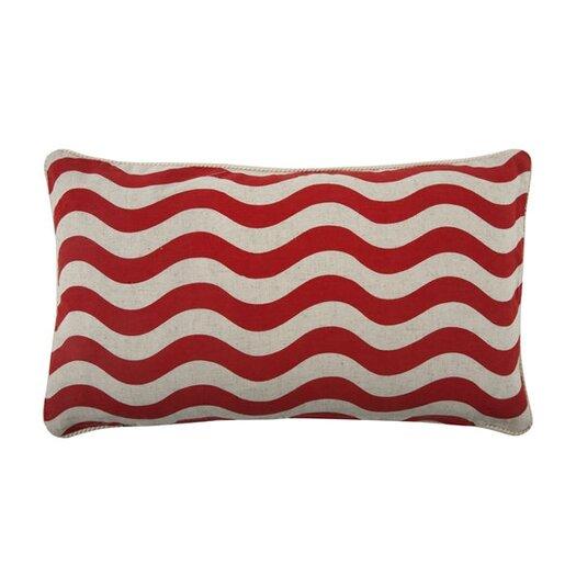 Thomas Paul Lobster 12x20 Cotton Lumbar Pillow