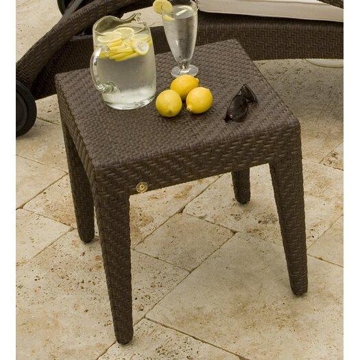 Hospitality Rattan Soho Patio Wicker Side Table