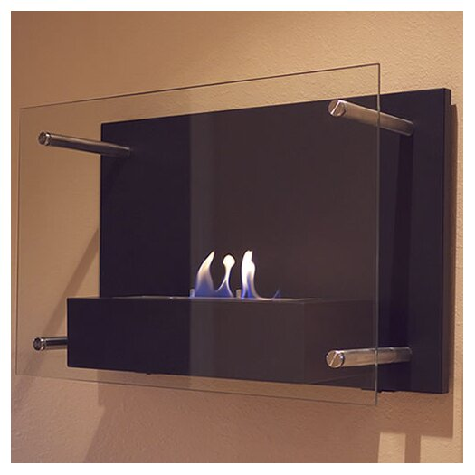 Nu-Flame Radia Wall Mount Bio Ethanol Fireplace