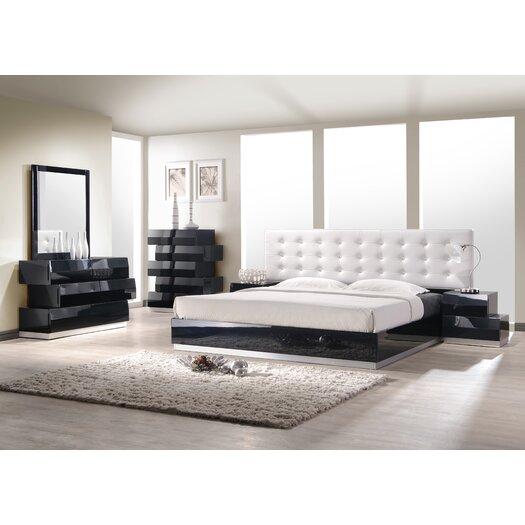 Milan Panel Bed