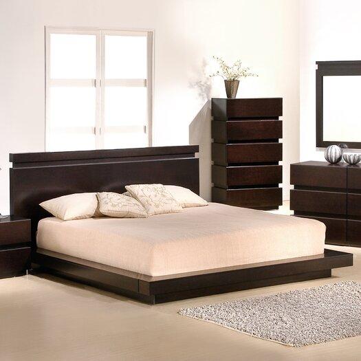 Knotch Panel Bed