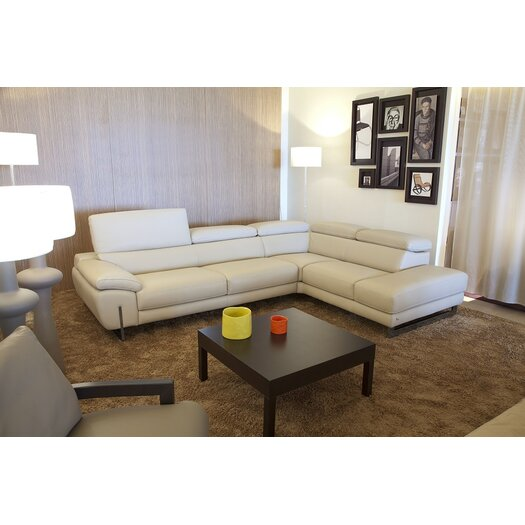 J&M Furniture Dakota Leather Sectional