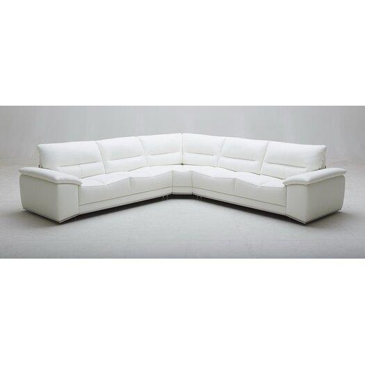 Premium Adriana Leather Sectional