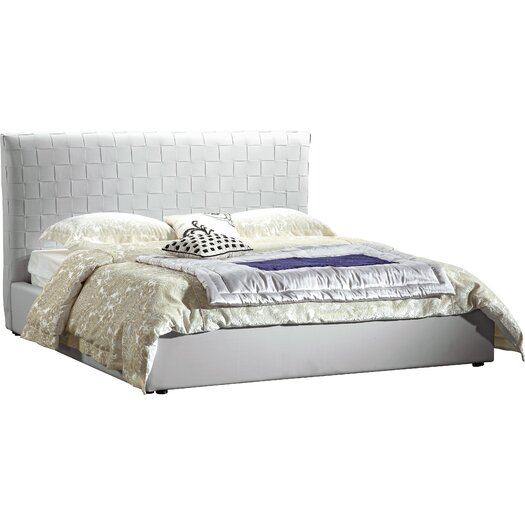 Lea Upholstered Bed Natural Queen