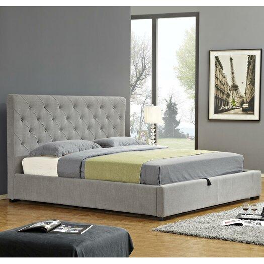 J M Furniture Upholstered Platform Bed AllModern