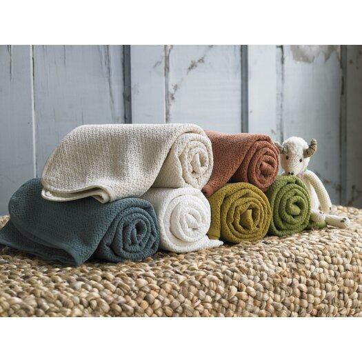Coyuchi Honeycomb Cotton Throw / Blanket