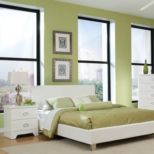 Standard Furniture Meridian Platform Customizable Bedroom Set