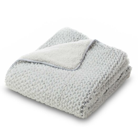 Where the Polka Dots Roam Essential Mink Faux Fur Throw Blanket
