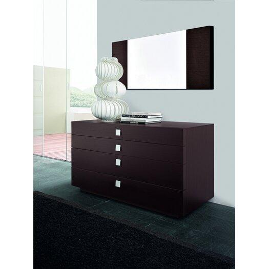 Win 4 Drawer Dresser with Mirror