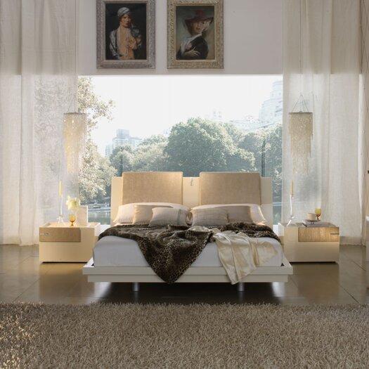 Rossetto USA Diamond Platform Customizable Bedroom Set