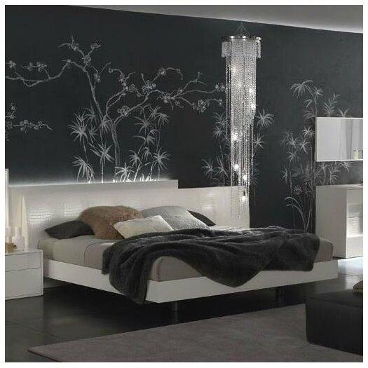 J m furniture roma platform bed allmodern - Characteristics of contemporary platform beds ...