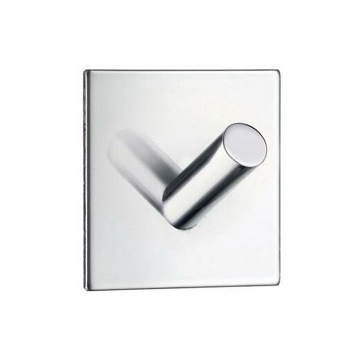 Smedbo Beslagsboden Square Design Single Wall Mounted Hook