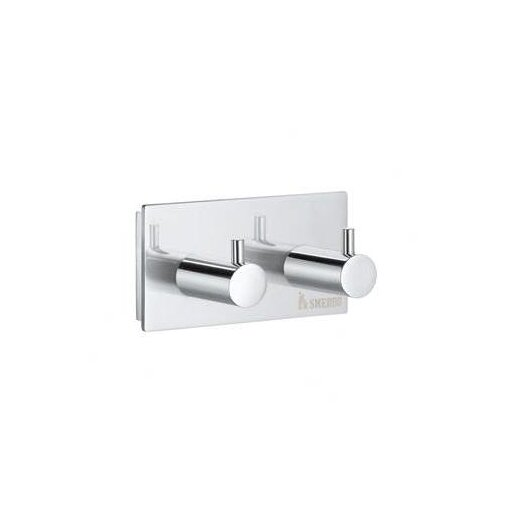 Smedbo Pool Double Wall Mounted Towel Hook