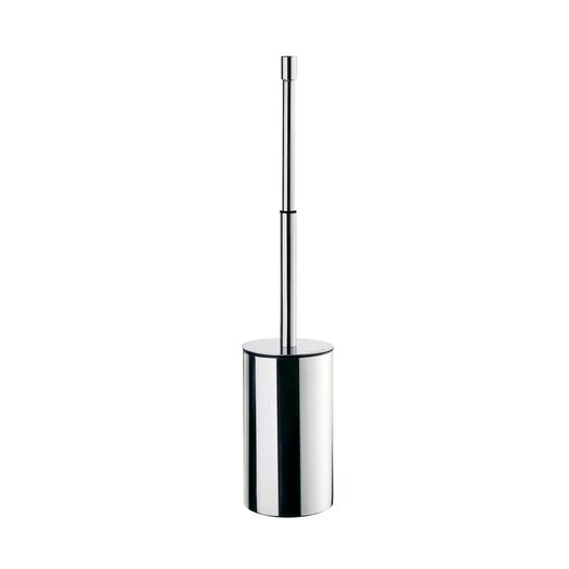 Smedbo Outline Lite Toilet Brush with Movable Lid in Polished Chrome