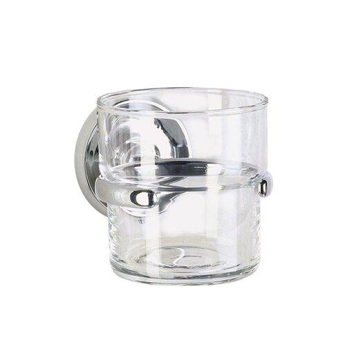 Smedbo Villa Holder with Glass Tumbler
