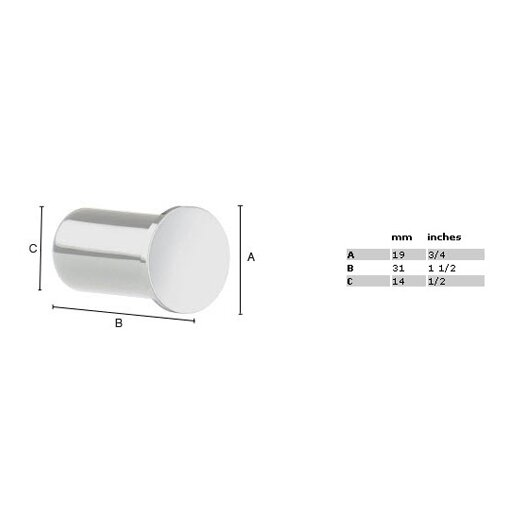Smedbo Air Single Wall Mounted Towel Hook Pair