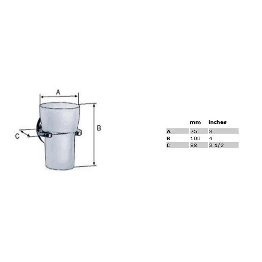 Smedbo Loft Holder with Frosted Glass Tumbler