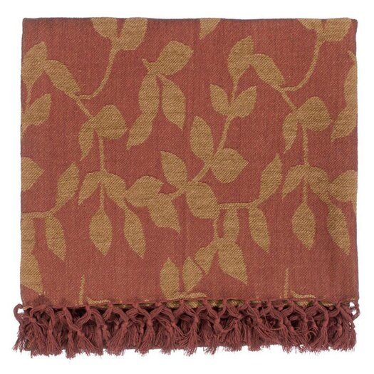 Surya Timora Cotton Throw Blanket