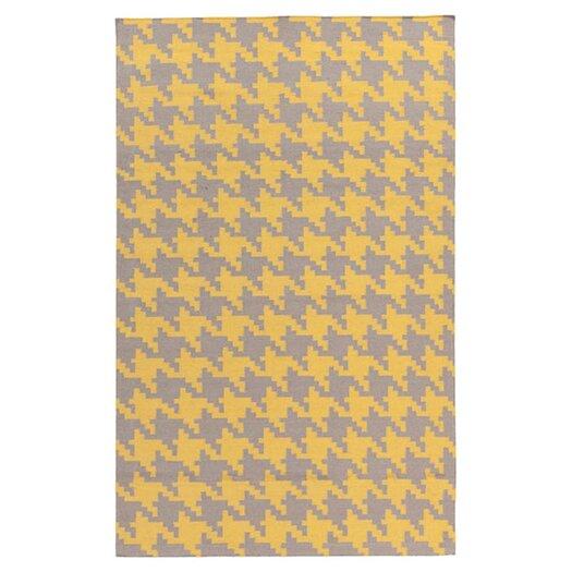 Surya Frontier Elephant Gray & Quince Yellow Area Rug
