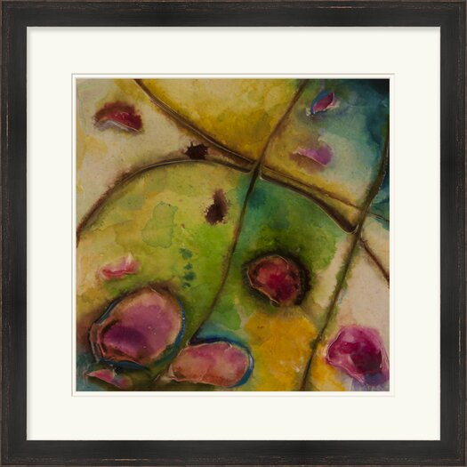 Surya Abstract Series No. 11 by Vision Studio Framed Graphic Art