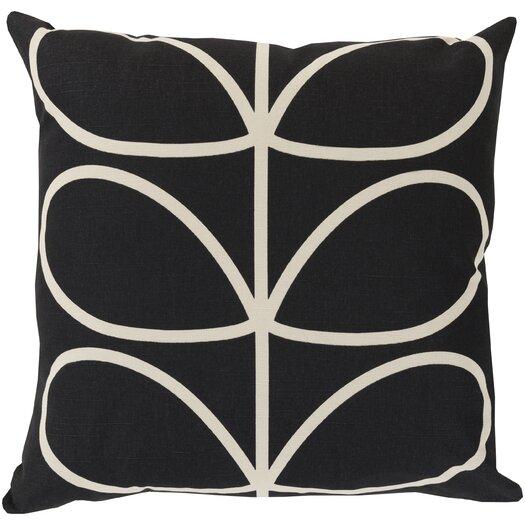 Surya Stem Cotton Throw Pillow