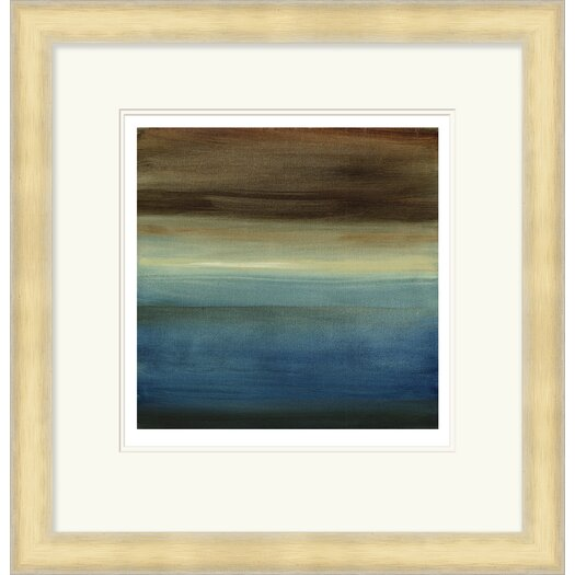 Surya Abstract Horizon III by Vision Studio Framed Graphic Art